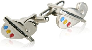 Paint Palette Cuff links by Cuff-Daddy