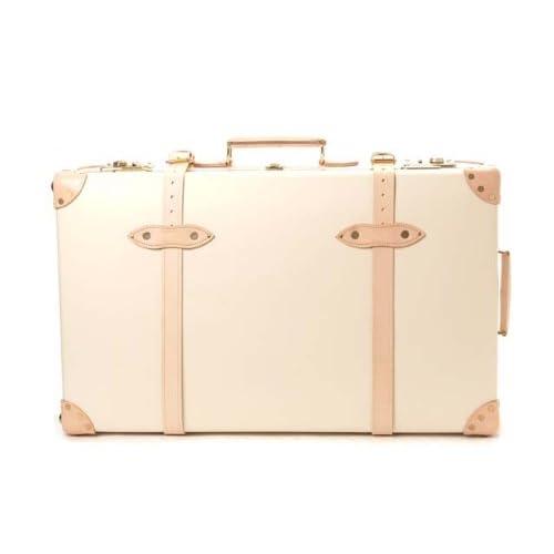 (グローブトロッター) GLOBE TROTTER [現地ストック品] サファリ 28インチ スーツケース WITH ホイールズ アイボリー [並行輸入品]