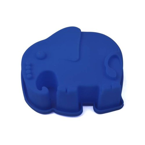Cute Cartoon Elephant Silicone Cake Mold, Creative Animal Shapes Mold For Microwave Oven