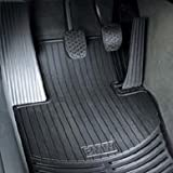 BMW All Weather Front Rubber Floor Mats 325 328 330 335 M3 (2006 Onwards) - Black