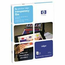 HEWC3828A - Premium Inkjet Transparency Film - Buy HEWC3828A - Premium Inkjet Transparency Film - Purchase HEWC3828A - Premium Inkjet Transparency Film (Hewlett-Packard, Office Products, Categories, Office & School Supplies, Presentation Supplies, Transparency Film)