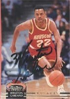 Winston Garland Houston Rockets 1993 Stadium Club Autographed Hand Signed Trading... by Hall of Fame Memorabilia