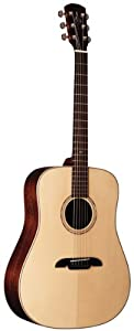 Alvarez MD711 Masterworks Series Dreadnought Acoustic-Electric Guitar with Hard Case
