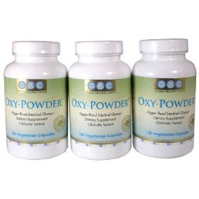 Oxy-Powder 3-Pack! Organic Oxygen Based Colon Cleanse!