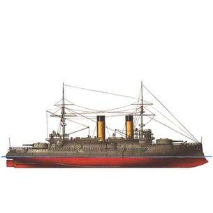 1/350 ロシア戦艦 ボロジノ