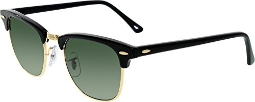 Ray-Ban Sunglasses - RB3016 Clubmaster / Frame: Black Lens: