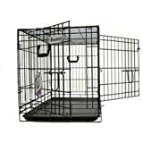 Pet Tek DPK86006 Dream Crate Professional Series 600 Dog Crate, 48 by 30 by 33-Inch, Black