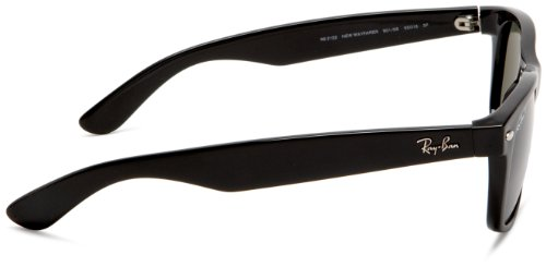 Ray-Ban Black Polarized New Wayfarer Sunglasses