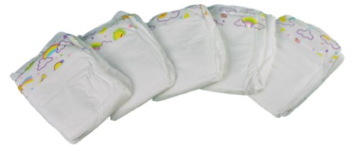 Mommy & Me Baby Doll Diapers - 5 Pack front-232914