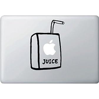 MacBook 対応 アートステッカー☆ - Apple Juice Box 2 - 【並行輸入品】