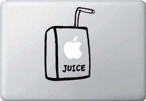 MacBook 対応 アートステッカー - Apple Juice Box 2 - 【並行輸入品】