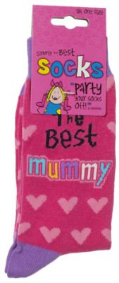 Simply The Best Mummy Socks