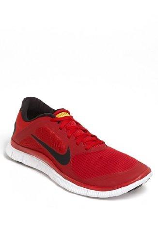 pretty nice 6de25 30b37 Nike Free 4 0 V3 Livestrong Men Shoes Gym Red Black 586297 607 SIZE 13