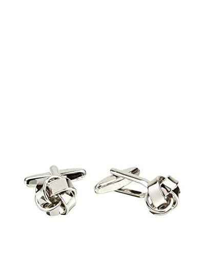 Ortiz & Reed Manschettenknopf Silver-Color Brass Cufflinks metall