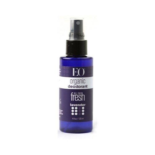 Organic Deodorant Spray-Lavender Eo 4 Oz Spray