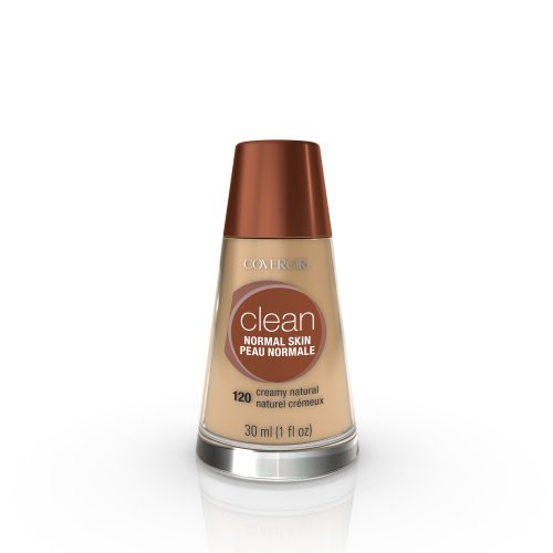 CoverGirl Clean Liquid Makeup, Creamy Natural (N) 120, 1.0-Ounce Bottles (Pack of 2)