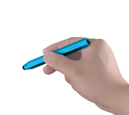 DURAGADGET Funky Blue Touchscreen Art Stylus Pen With Capacitive Rubber Tip For Gemini Joytab 9.7 Android Tablet (ARM Cortex A8 1.2Ghz CPU), SANEI n77 fasion 3D & Toshiba AT300SE at Electronic-Readers.com