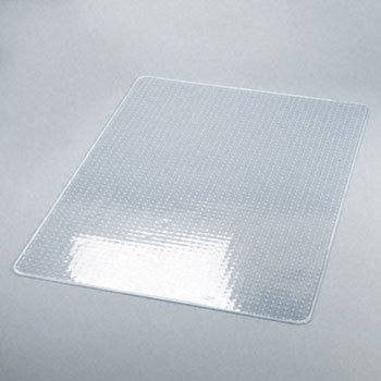 deflect-o® Glass-Clear Studded Beveled Chair Mats for Low/Medium Pile Carpeting CHAIRMAT,46X60NOLIP,MEDPI 811-2PK (Pack of2)