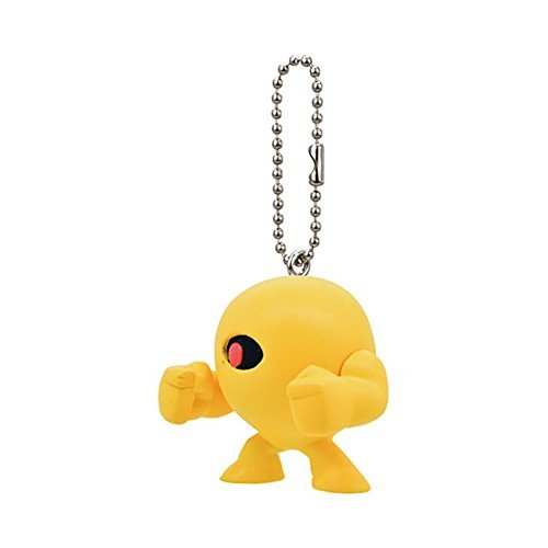 Mega man Rockman Figure Swing Keychain~Yellow Devil