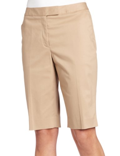 Jones New York Women's Golf Short, Toast, 10
