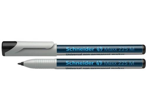 Schneider 225 Feutre pour rétroprojecteur Effaçable/M/1,0 mm Noir Lot de 10 (Import Allemagne)