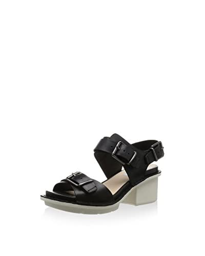 Clarks Sandalette schwarz