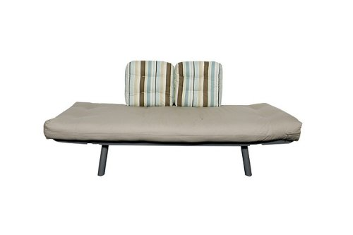 Sofa / Lounger with Blue Mocha Stripe/Khaki Cover - Digit Collection - 55-7119-BM