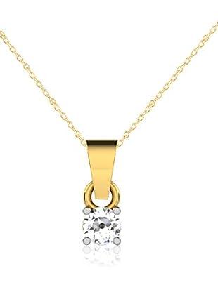 Friendly Diamonds Conjunto de cadena y colgante FDP6254Y Oro Amarillo