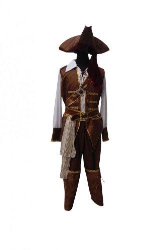 Herrenkostüm - Fluch der Karibik - Pirat 2, Größe:XL
