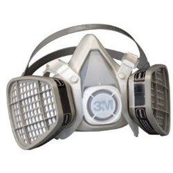 Md Thermoplastic Elastomer Series 5000 Half Mask Organic Vapor/Acid Gas APR