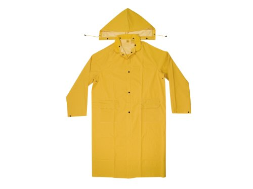 [CLC Rain Wear R105X .35 MM PVC Trench Coat - XLarge] (Fisherman Costume)
