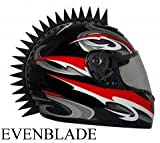 Motorcycle Dirtbike ATV Snowmobile Helmets Helmet Even Blade Warhawks Mohawks Mohawk Helmet Not Included