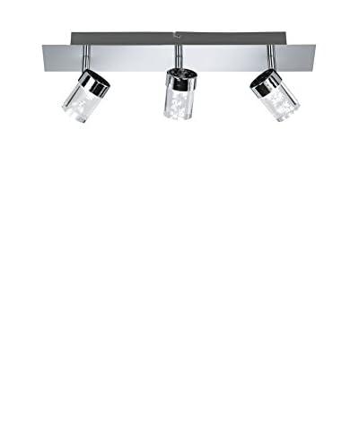 WOFI Lámpara De Techo LED Maar cromo