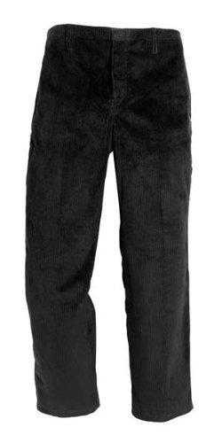 EIKO-Bund-Hose-Arbeits-Hose-Genuacord-2-Seitentaschen-schwarz-Gre-58
