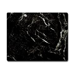 Instant Counter Glass Burner Cover Black Marble (look) Cutting Board