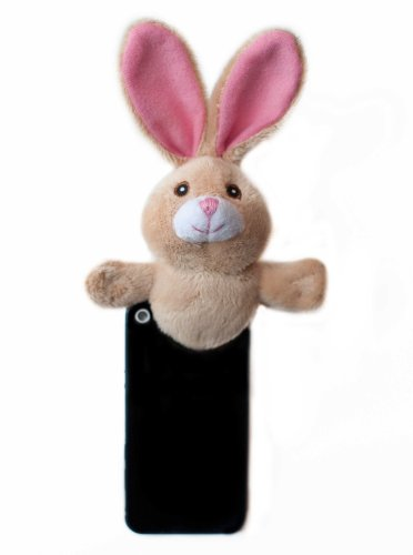 Shutter Huggers BUN003 Mini Shutter Hugger for Portable Video Devices, Bunny (Brown)