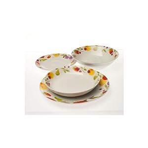 Tognana Servizio piatti porcellana, decoro Sibilla 19 pezzi NOVITA