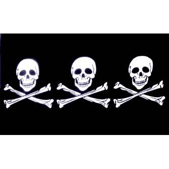 Buy Pirate Flag – 3 Skulls