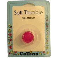 Collins Thimble Soft Size Medium Hot Pink