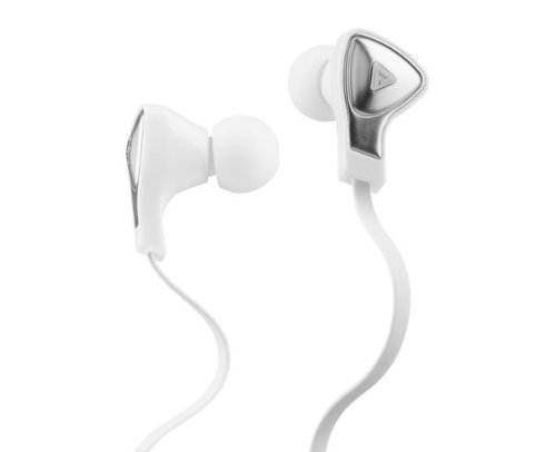 Monster Dna In-Ear Apple Control Talk Headphones (White) Bundle With Custom Design Zorro Sounds Cleaning Cloth