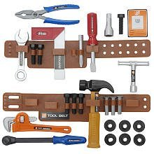 The Home Depot 25 Piece Toy Tool Belt Set (Home Depot For Kids compare prices)