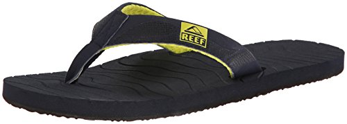 Reef - Infradito, Uomo, Giallo (Jaune (Mid Blue/Yellow)), 43