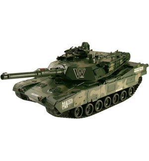 Airsoft RC Electric Panzer Giant Battle Tank