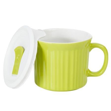 Corningware Colours Pop-Ins Sprout 20-oz Mug w/ Lid