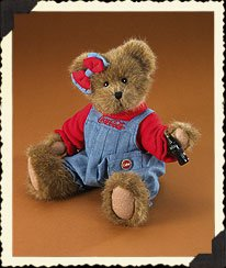 Kaylie Boyds Coca Cola Bear (Retired)