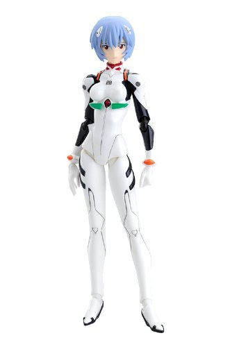 Max Factory - Evangelion 2.0 figurine Figma Rei Ayanami 14 cm