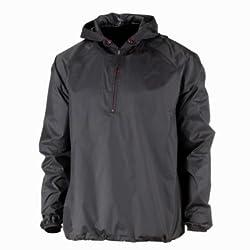 Quechua Rain Cut Jacket, Men's Large (Black)