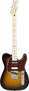 Fender Deluxe Nashville Tele, Maple Fretboard - Brown Sunburst