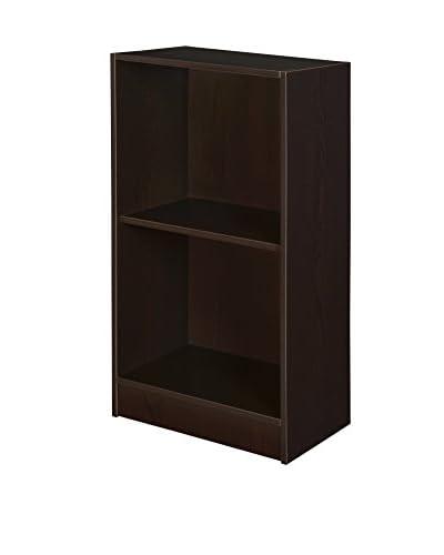 Niche Deskside Bookcase, Truffle