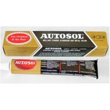 Autosol Chrome Polish - Metal & Aluminium Cleaner 75ml/100gm - Free UK Delivery
